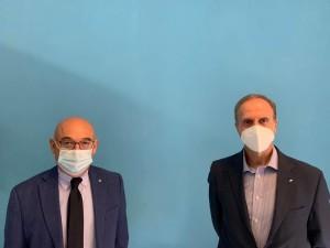 Trebisacce (Cs). Il Sindaco Mundo incontra il Dr. Dino Filomia