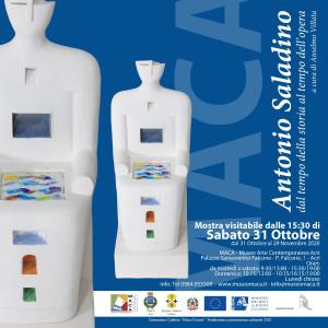 Acri (CS). Sabato 31 ottobre apre la mostra di Antonio Saladino dal MACA