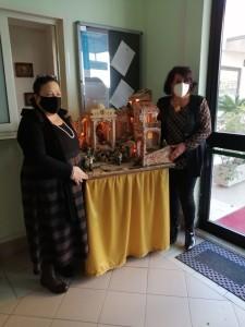 Presepe dell'Istituto comprensivo Crosia (Cs) all'Usr Calabria