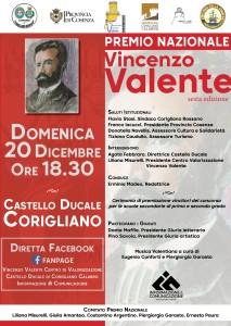 Calabria. Premio Nazionale Vincenzo Valente 2020 in diretta streaming.