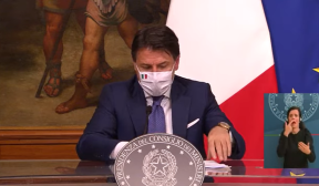 Conferenza stampa del Presidente Conte. VIDEO