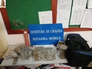Catania. LaSquadra Mobile arresta uno spacciatore