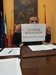 Messina. Stasera alle 19.00, in diretta video,  sarà presentata l'ordinanza del Sindaco De Luca.