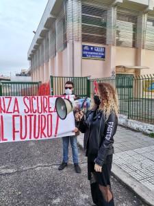 """Cosenza. FGC Calabria: """"Protesta studenti contro Dad."""""""