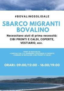 Bovalino (Rc): all'alba sbarco di 32 migranti sulla spiaggia di Bovalino