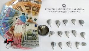 Reggio Calabria. Arrestato dai carabinieri in pieno centro cittadino giovane 34enne per detenzione ai fini di spaccio.