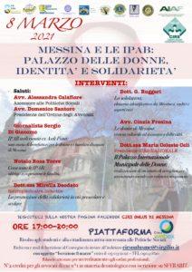 """Messina. Festa della donna: lunedì 8 il convegno """"Messina e le Ipab. Palazzo delle Donne, identità e solidarietà"""""""