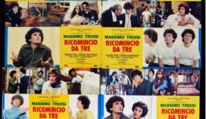 """""""Ricomincio da tre"""" di Massimo Troisi compie 40 anni. A Messina si deve il suo successo"""