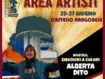 """Reggio Calabria. Alberta Dito in mostra al Rhegium/Comics con """"Emozioni a colori"""""""